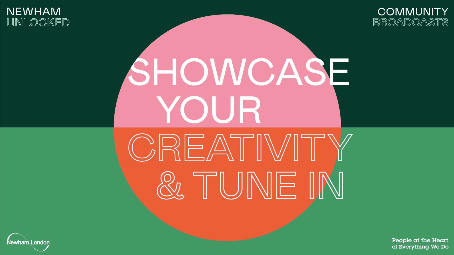 Community Broadcast 1: Calling all Newham Creatives